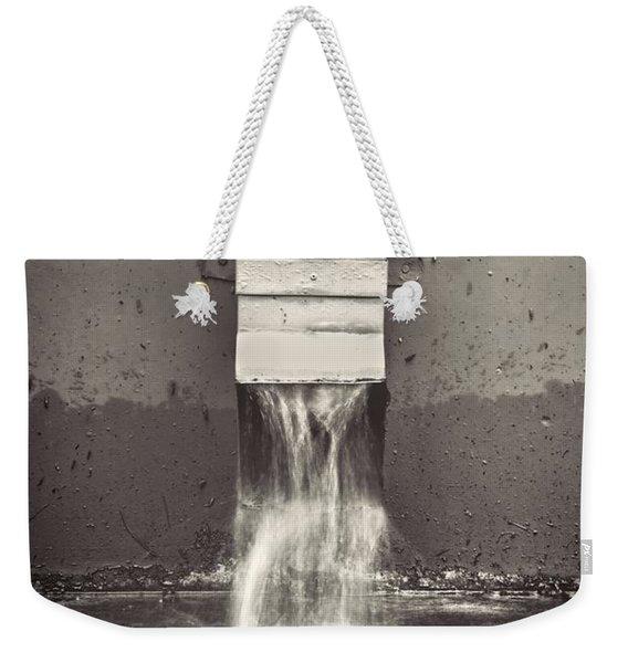 Downspout Weekender Tote Bag
