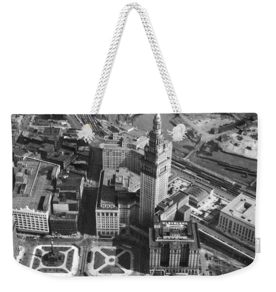 Downtown Cleveland In 1929 Weekender Tote Bag
