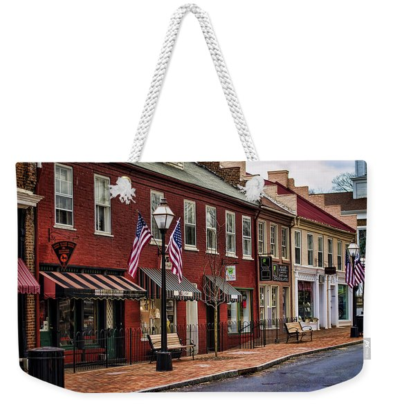 Downtown Jonesborough Tn Weekender Tote Bag