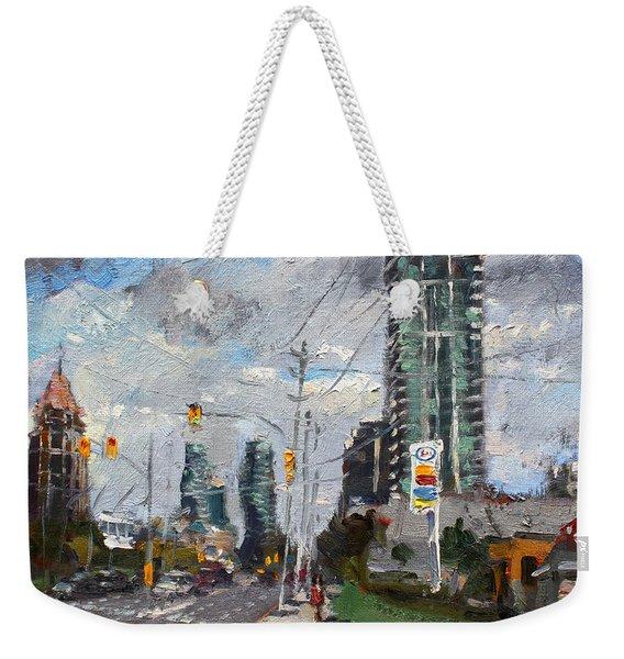 Downtown Mississauga On Weekender Tote Bag