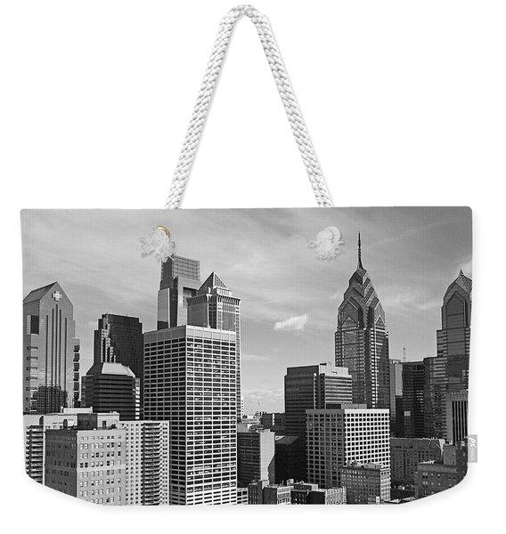 Downtown Philadelphia Weekender Tote Bag