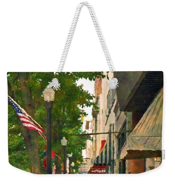 Downtown Usa Weekender Tote Bag