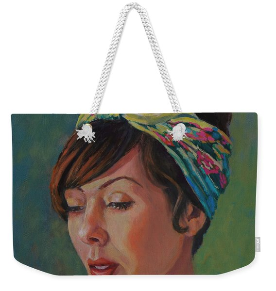 Downward Glance Weekender Tote Bag