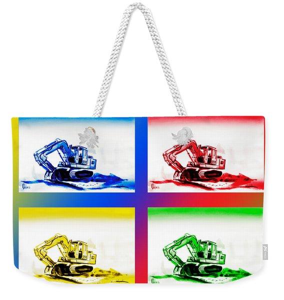 Dozer Mania IIi Weekender Tote Bag