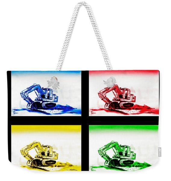 Dozer Mania Iv Weekender Tote Bag
