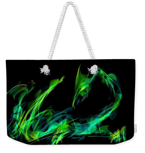 Draconus Emeraude Weekender Tote Bag