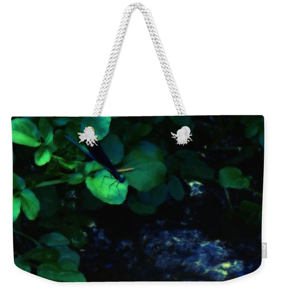 Dragonfly Daze Weekender Tote Bag