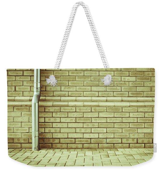 Drainpipe Weekender Tote Bag