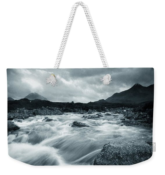 Dramatic Cuillin Weekender Tote Bag
