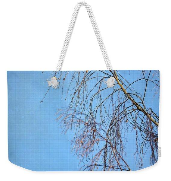 Dream Blue Weekender Tote Bag