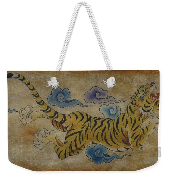 Dream Tiger  Weekender Tote Bag