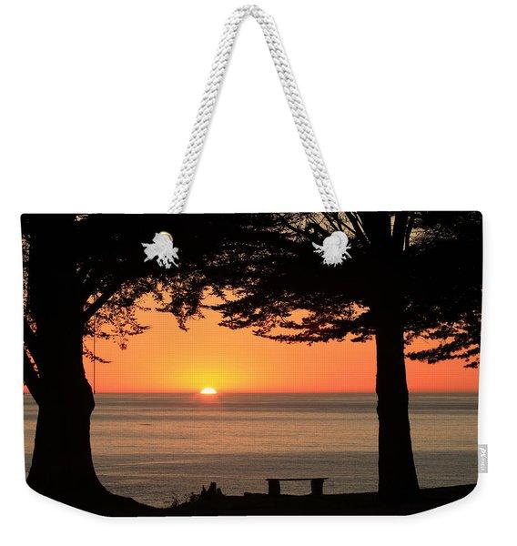 Dreamy Day's End Weekender Tote Bag