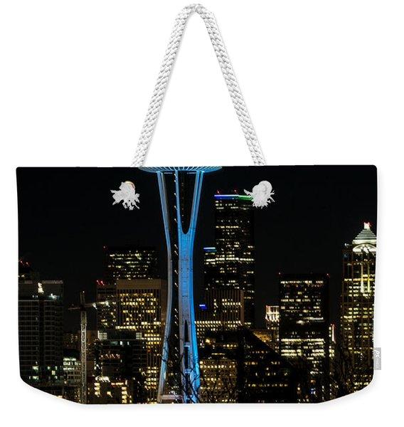 Dressed For The Super Bowl Weekender Tote Bag