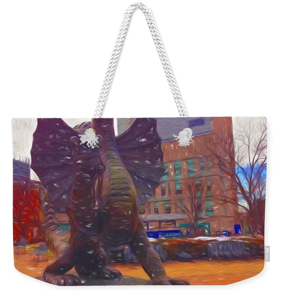 Drexel Dragon Colored Weekender Tote Bag