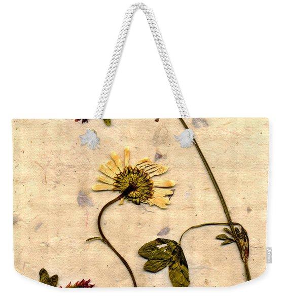 Dried Flowerrs 1 Weekender Tote Bag