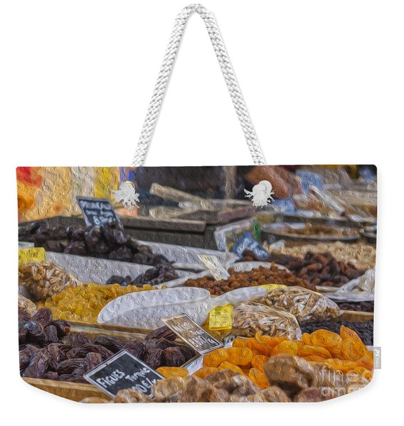 Dried Fruits Weekender Tote Bag