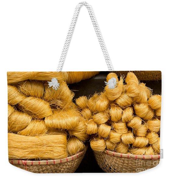 Dried Rice Noodles 02 Weekender Tote Bag