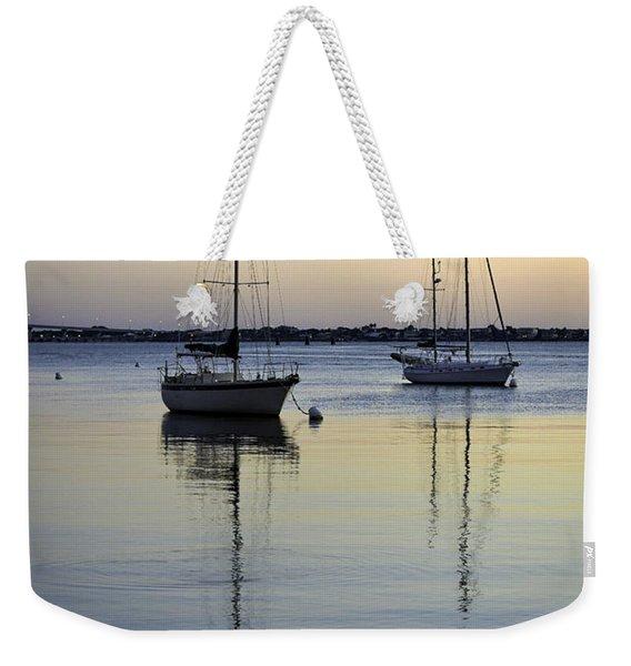 Drifting Sunrise Weekender Tote Bag