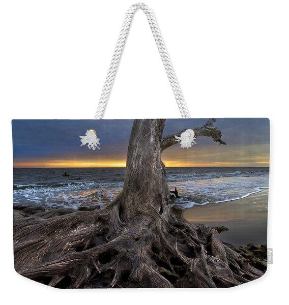 Driftwood On Jekyll Island Weekender Tote Bag