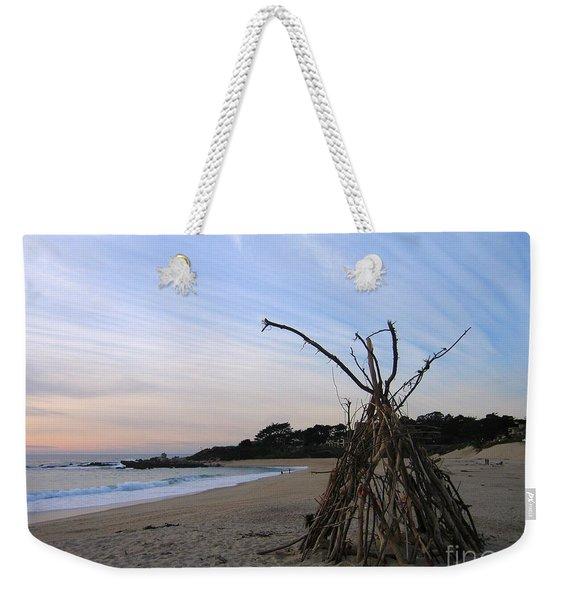 Driftwood Tipi Weekender Tote Bag