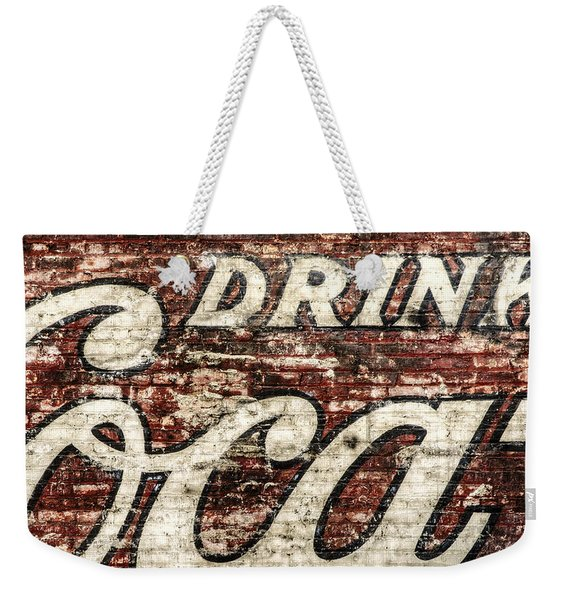 Drink Coca-cola 2 Weekender Tote Bag