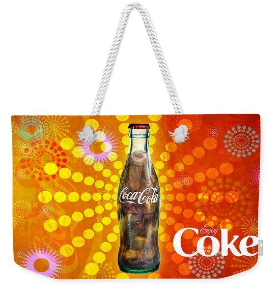 Drink Ice Cold Coke 4 Weekender Tote Bag