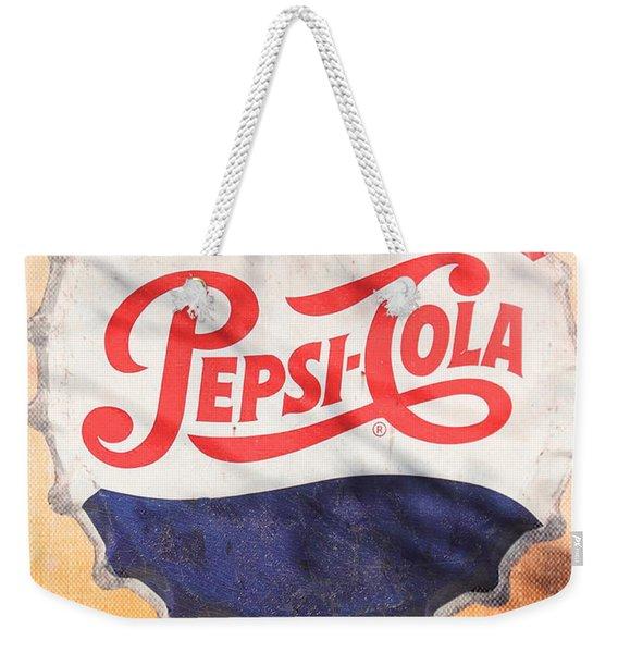 Drink Pepsi  Weekender Tote Bag
