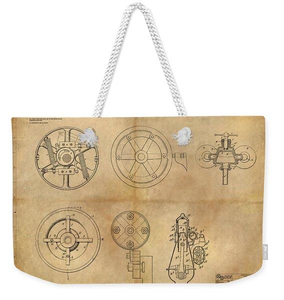 Drive Mechanism Weekender Tote Bag