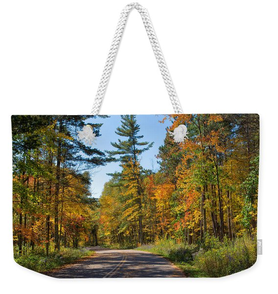 Drive Through Splendor In Minnesota Weekender Tote Bag