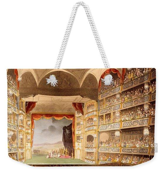 Drury Lane Theatre, Illustration Weekender Tote Bag