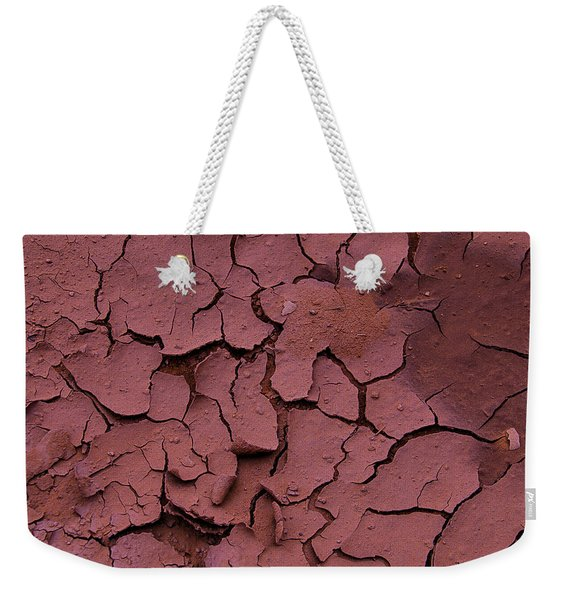 Dry Cracked Earth Weekender Tote Bag