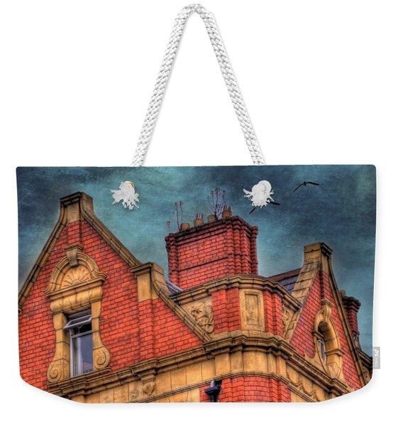 Dublin House Roof Top Weekender Tote Bag