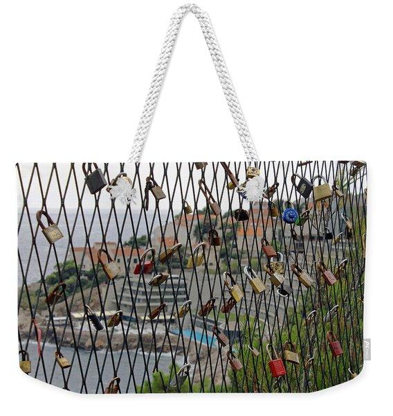 Dubrovnik Love Locks Weekender Tote Bag