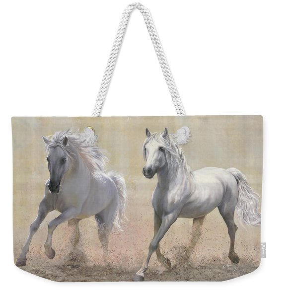 Due Cavalli Weekender Tote Bag