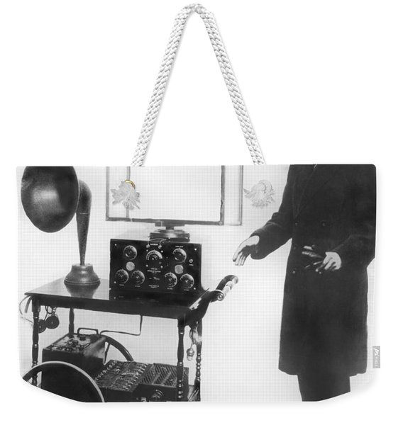 Duke & Duchess Portable Radio Weekender Tote Bag