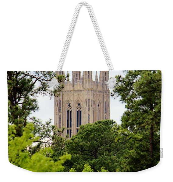 Duke Chapel Weekender Tote Bag