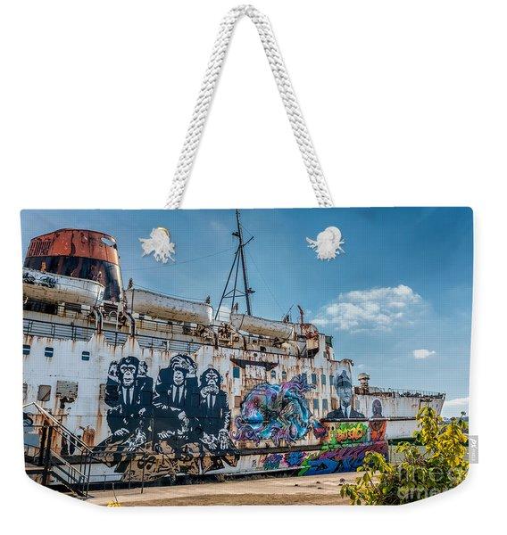 Duke Graffiti  Weekender Tote Bag