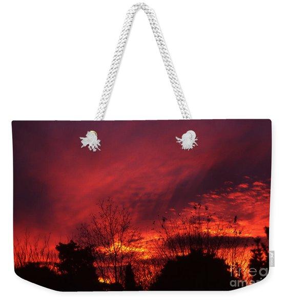 Dundee Sunset Weekender Tote Bag