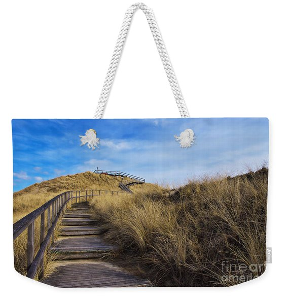 Dune With A View Weekender Tote Bag