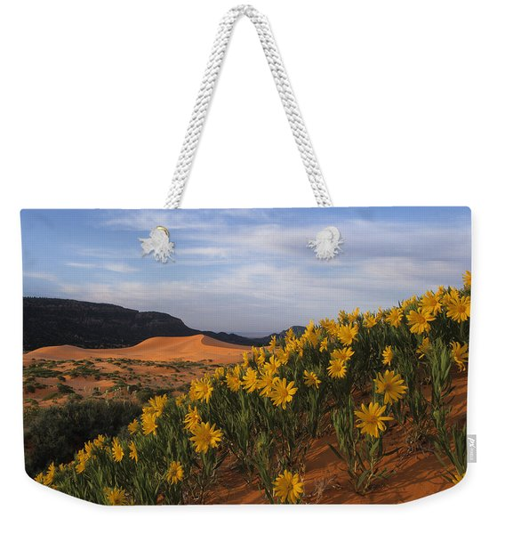 Dunes In Bloom Weekender Tote Bag