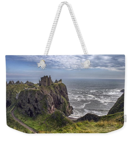 Dunnottar Castle And The Scotland Coast Weekender Tote Bag
