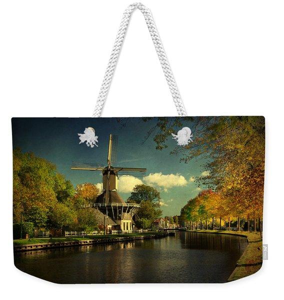 Dutch Windmill Weekender Tote Bag