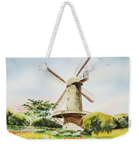 Dutch Windmill In San Francisco  Weekender Tote Bag