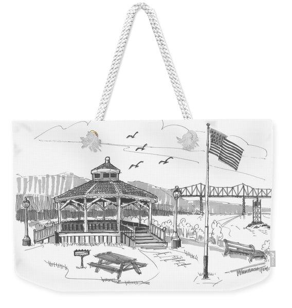 Dutchmen's Landing Catskill Weekender Tote Bag
