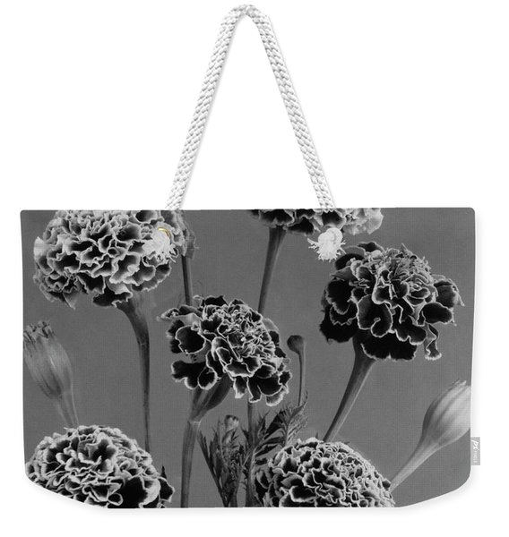 Dwarf Monarch Marigolds Weekender Tote Bag