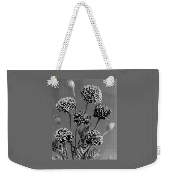 Dwarf Monarch Marigolds Weekender Tote Bag