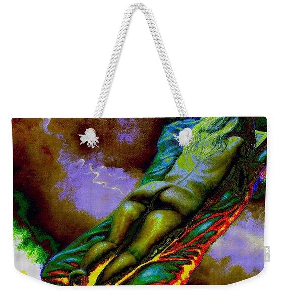 Dwelling In Erotic Pleaseure Weekender Tote Bag