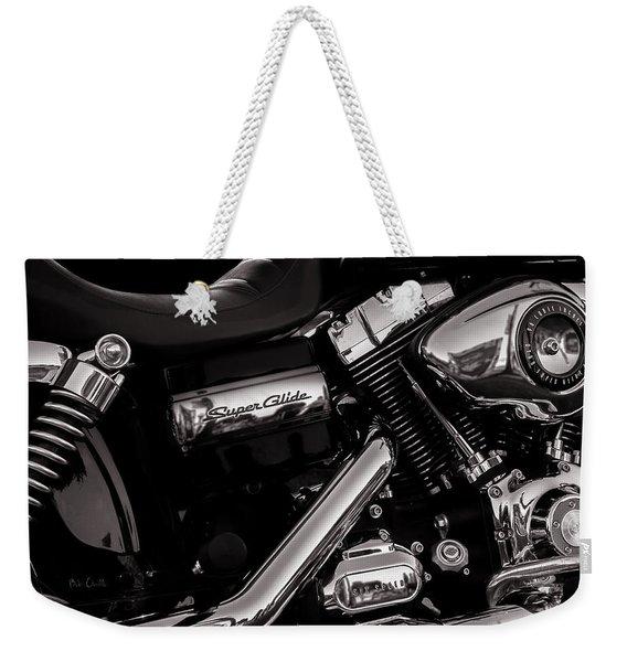 Dyna Super Glide Custom Weekender Tote Bag