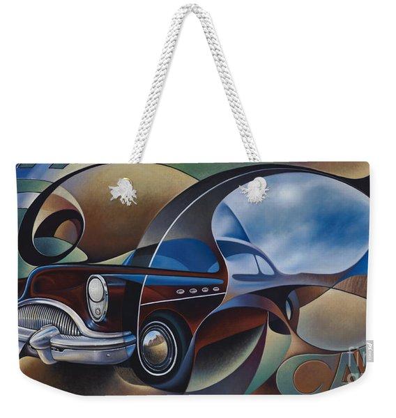 Dynamic Route 66 Weekender Tote Bag