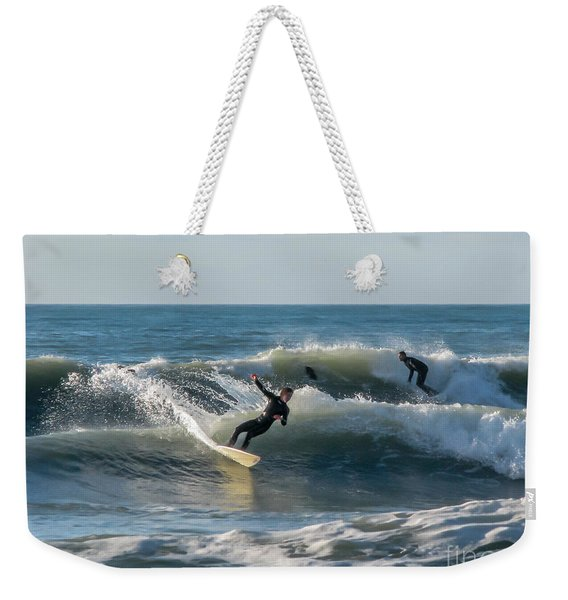 Dynamical Enjoyment Weekender Tote Bag
